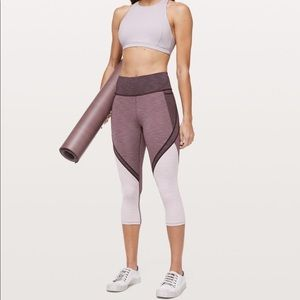 """lululemon Early Extension High Rise Crop - 21"""""""